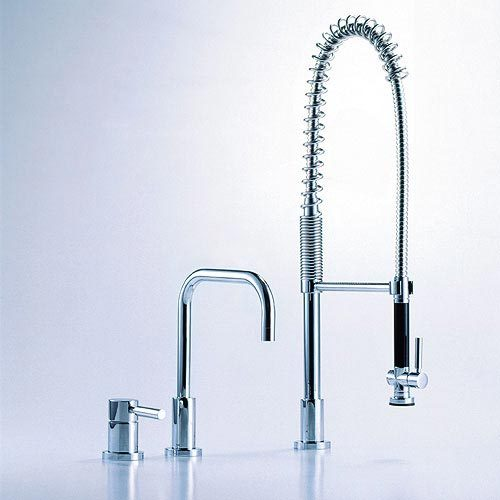 Meta.02 - Three-hole mixer by Dornbracht | Kitchen taps