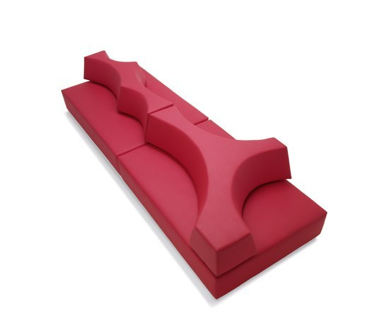 Baia modular seating system by B.R.F. | Modular seating systems