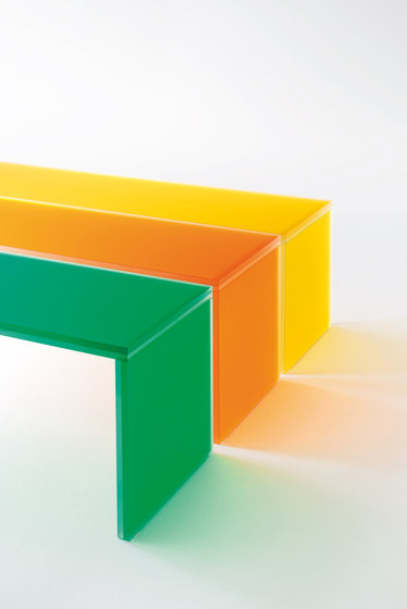 Triennale by Glas Italia | Benches