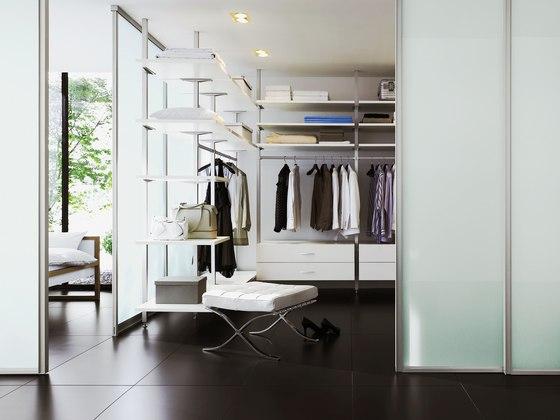 Uno interior closet storage system by raumplus | Room dividers