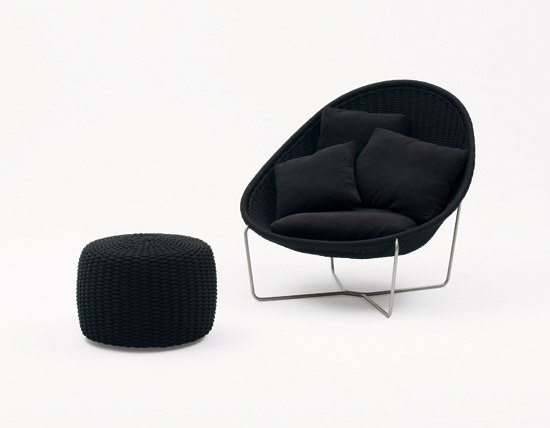 Nido by Paola Lenti | Garden armchairs