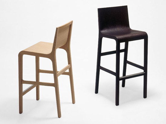Foglia stool by Novecentoundici | Bar stools