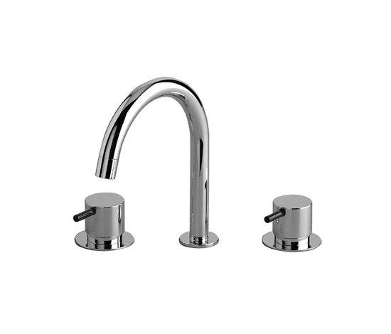 KV10 - Three-hole mixer by VOLA | Wash-basin taps