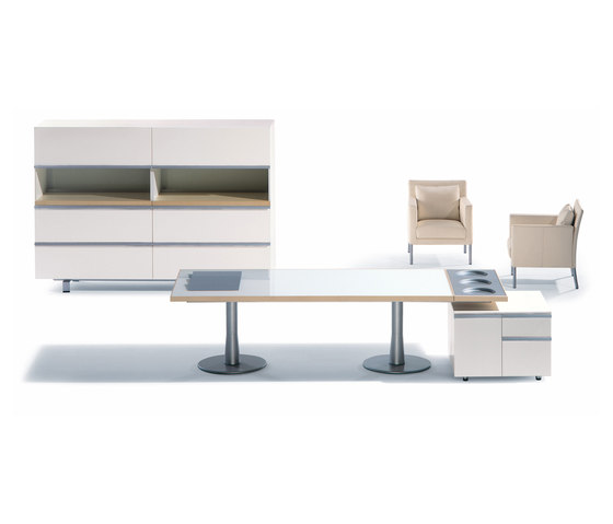 I x table high tech theme executive desks from nurus architonic - Table basse high tech ...