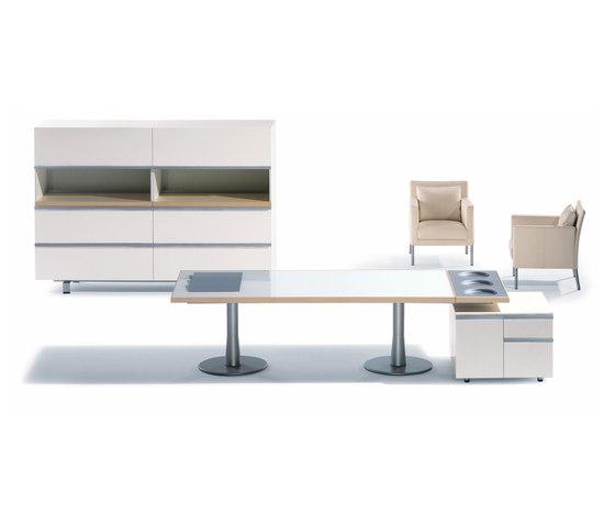I x table high tech theme executive desks from nurus architonic - Table basse high tech ...