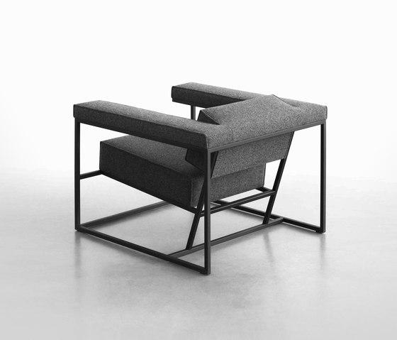 Metropolis by spectrum meubelen | Armchairs