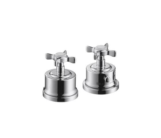 AXOR Montreux Miscelatore termostatico 2 fori bordo vasca DN15 di AXOR | Rubinetteria vasche