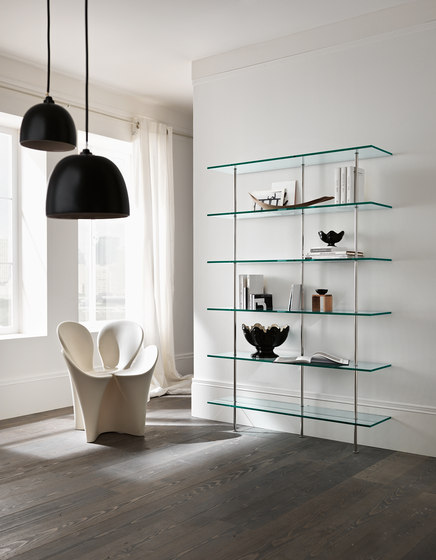 Trasparenza by Tonelli | Shelving systems