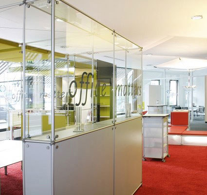 constructiv PON Office by Burkhardt Leitner | Space dividers