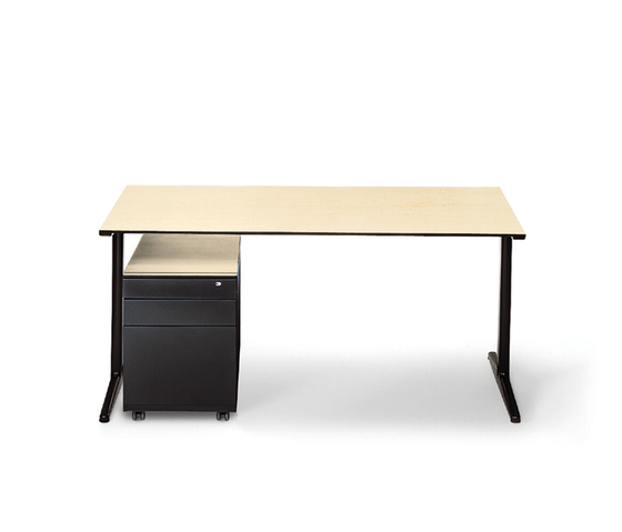 Mehes Desk System von Ahrend | Einzeltische