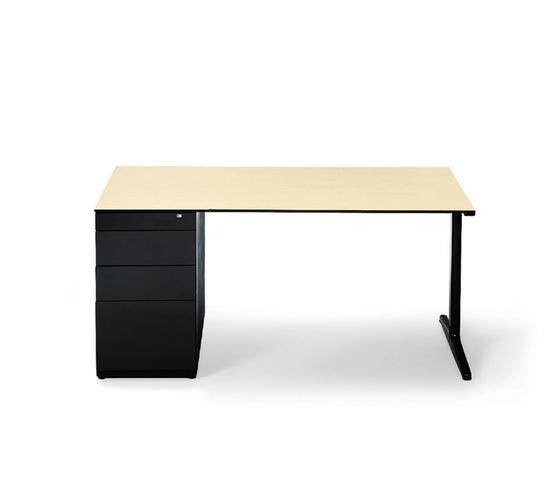 Mehes Desk System by Ahrend | Individual desks