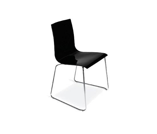 Wok sledge chair by Desalto | Multipurpose chairs