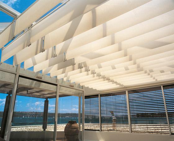 Sistema Skylight y de invernaderos Silent Gliss 8800 de Silent Gliss | Sistemas para techos acristalados