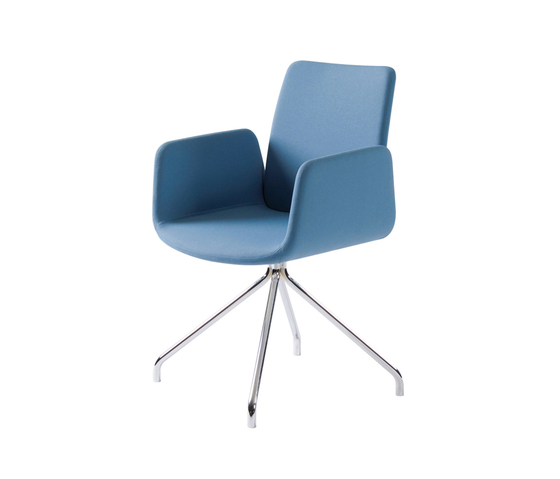 Lumi Swivel Chair by Dietiker | Conference chairs