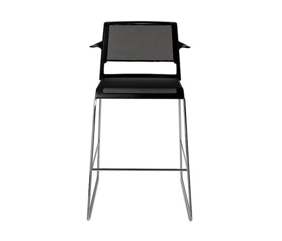 Aline 230/6 by Wilkhahn | Bar stools