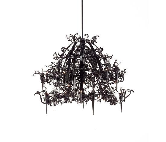 Flower Power chandelier by Brand van Egmond | Ceiling suspended chandeliers