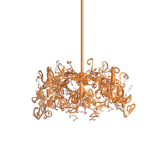 Icy Lady chandelier by Brand van Egmond | Ceiling suspended chandeliers