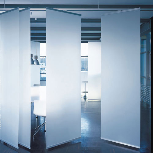 Profil 33 open-plan room divider by Rosso | Space dividers
