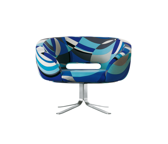 Rive Droite swivel armchair by Cappellini | Lounge chairs