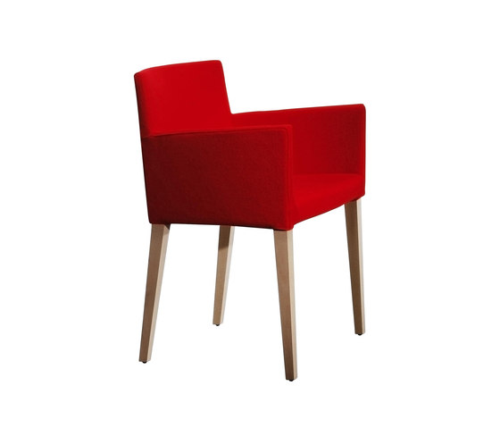 Classica Soft | CCS/4 by Cappellini | Restaurant chairs