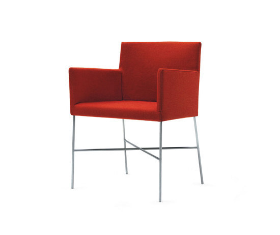 Crossoft | CRSS/2 by Cappellini | Visitors chairs / Side chairs