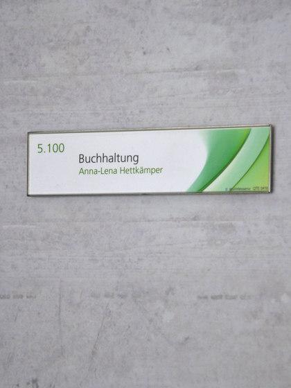 quintessenz Door plate E by Meng Informationstechnik | Symbols / Signs