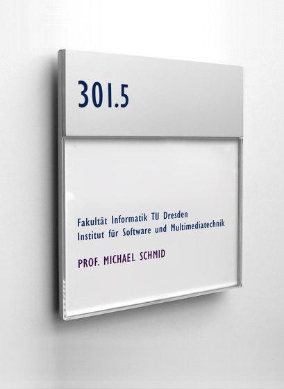 quintessenz Door plate by Meng Informationstechnik | Symbols / Signs