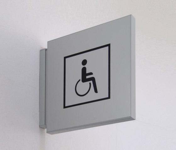 quintessenz Direction sign flag by Meng Informationstechnik | Symbols / Signs
