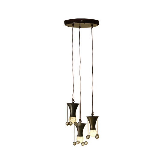 WW pendant lamp 3-fl by Woka | General lighting