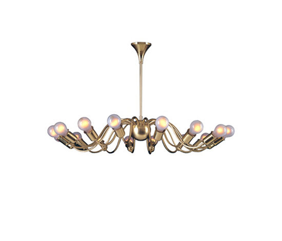 Josefstadt chandelier de Woka | Lámparas de techo