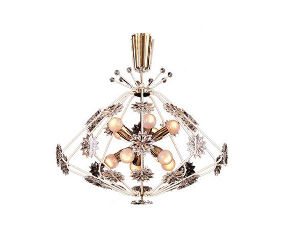 Snowflake chandelier by Woka | General lighting