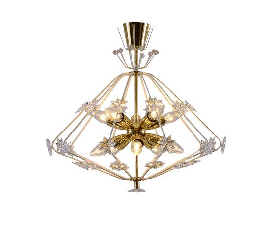 Snowflake chandelier de Woka | Iluminación general