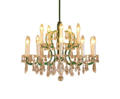 Baroque-12 chandelier by Woka | General lighting