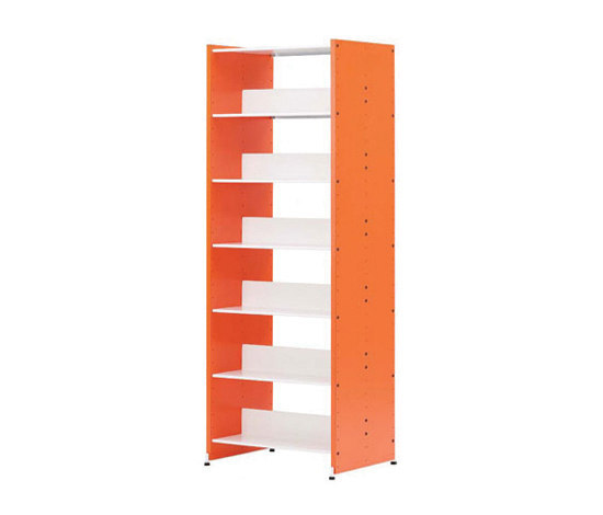 Littbus Wood / Customised by Lustrum | Library shelving systems