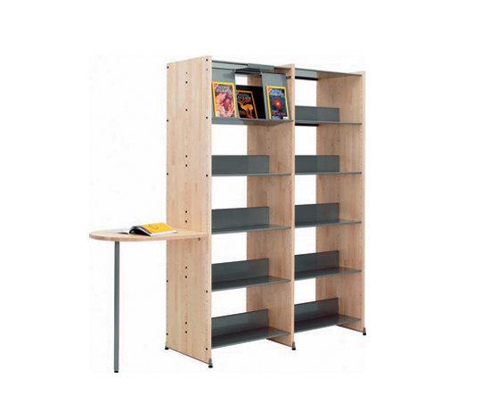 Littbus Wood di Lustrum | Librerie da biblioteca