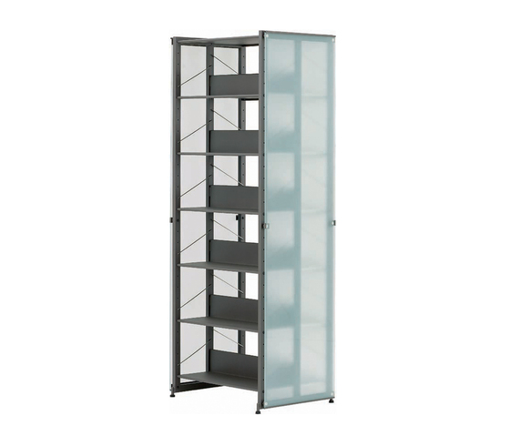 Littbus Glass / Double sided 542x2044 mm di Lustrum | Librerie da biblioteca
