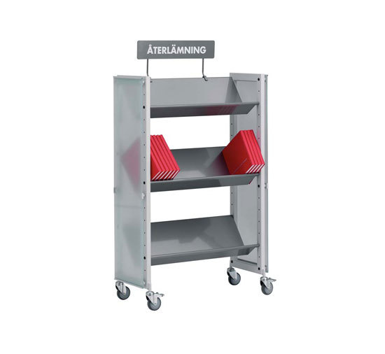 Modules / Book trolley - Mobil 1 de Lustrum | Chariots de livres