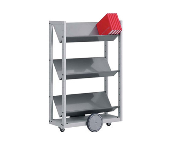 Modules / Book trolley - Mobil 4 de Lustrum | Chariots de livres