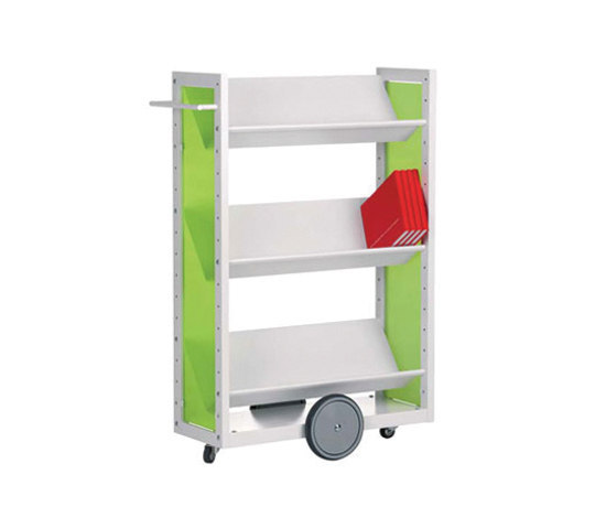 Modules / Book trolley - Mobil 1 de Lustrum | Carritos para libros