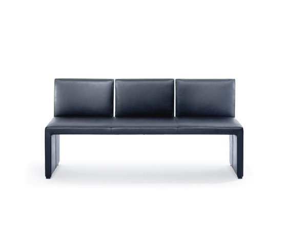 Corso bench by Wittmann | Upholstered benches