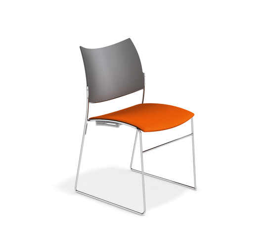 Curvy 1289/00 by Casala | Visitors chairs / Side chairs