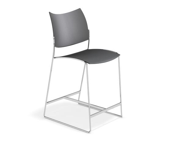 Curvy Barstool 1288/06 by Casala | Bar stools