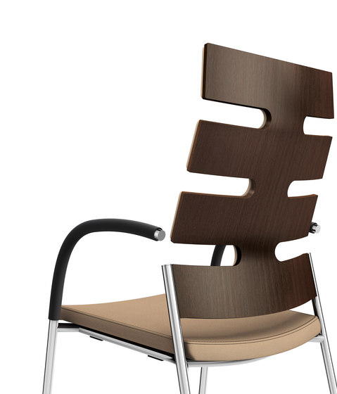 Keep Moving 2491/11 by Casala   Visitors chairs / Side chairs