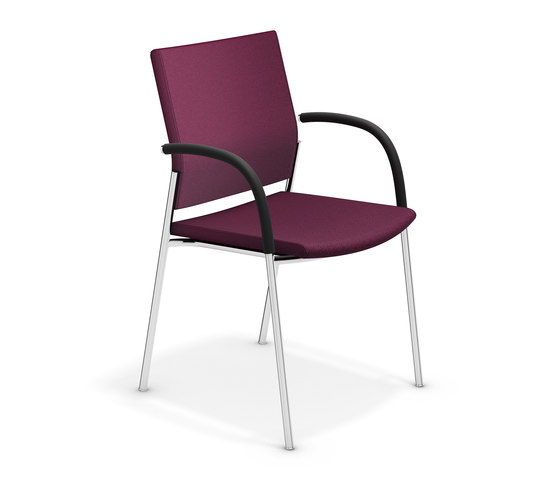 Keep Moving 2493/10 by Casala | Visitors chairs / Side chairs