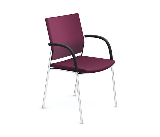 Keep Moving II 2493/10 by Casala | Visitors chairs / Side chairs