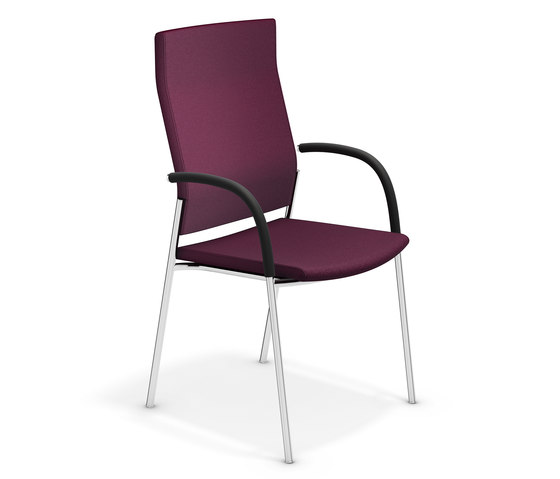 Keep Moving 2493/11 by Casala | Visitors chairs / Side chairs