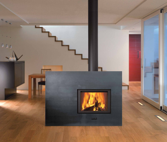 X-BOARD by Attika Feuer | Wood burning stoves