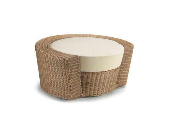 Hemisphere Footstool by DEDON | Garden stools