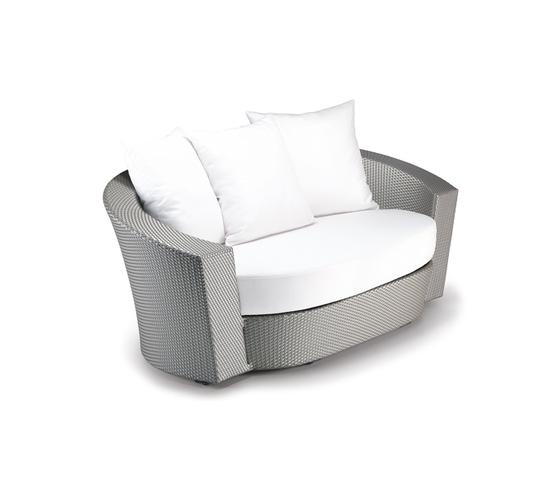Hemisphere 2 seater by DEDON | Garden sofas