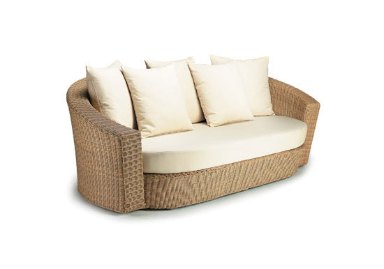 Hemisphere 3er Sofa von DEDON | Gartensofas